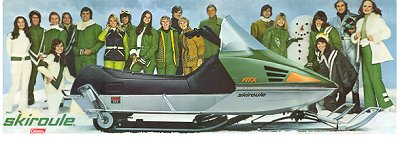 Skiroule Snowmobiles